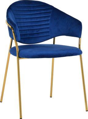 Ventris Navy Arm Chair, Set of 2