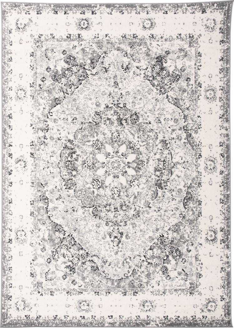 Verlee Gray 3' x 5'  Rug