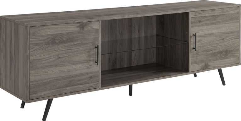 Verlie Gray 70 in. Console