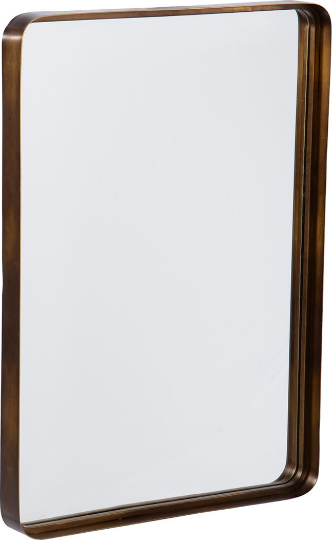 Vernetta Gold Wall Mirror