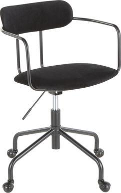 Vessier Black Desk Chair