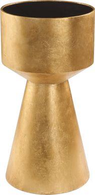 Vestine Gold Accent Table