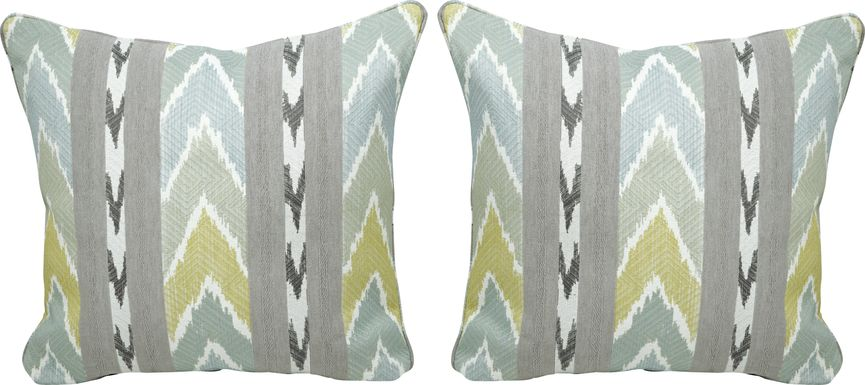 Vevey Sky Accent Pillows (Set of 2)