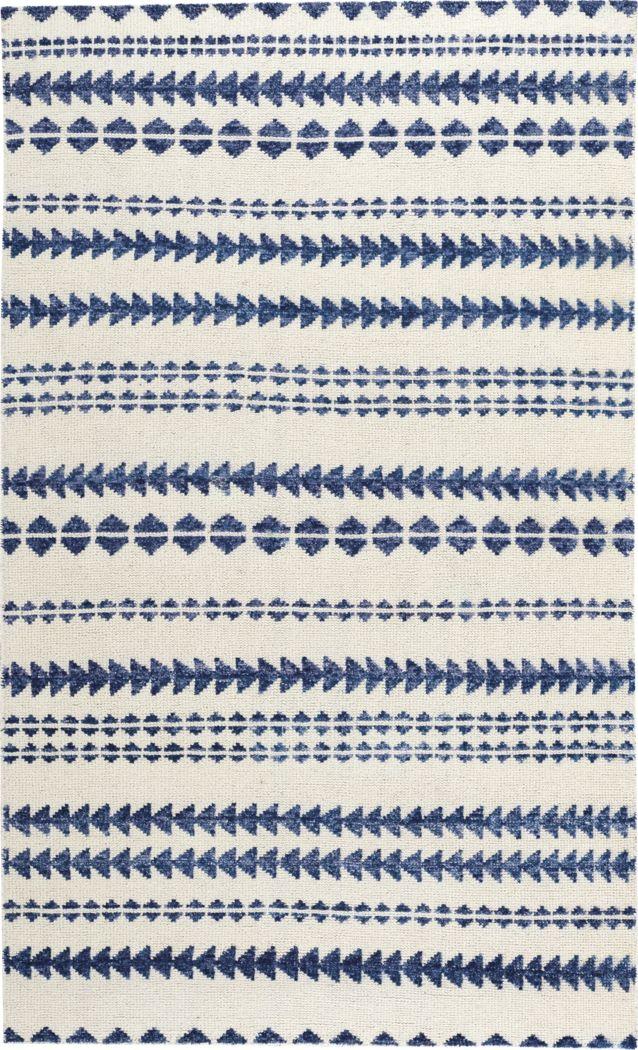 Viking Stripe Blue 5' x 8' Rug
