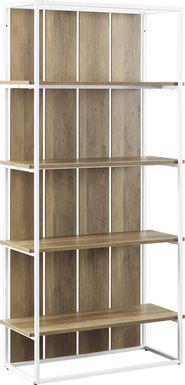 Villafane Oak Bookcase