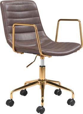 Vinicolla Brown Office Chair