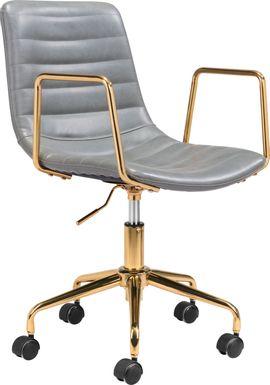 Vinicolla Gray Office Chair