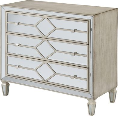 Vinkins Ivory Accent Cabinet