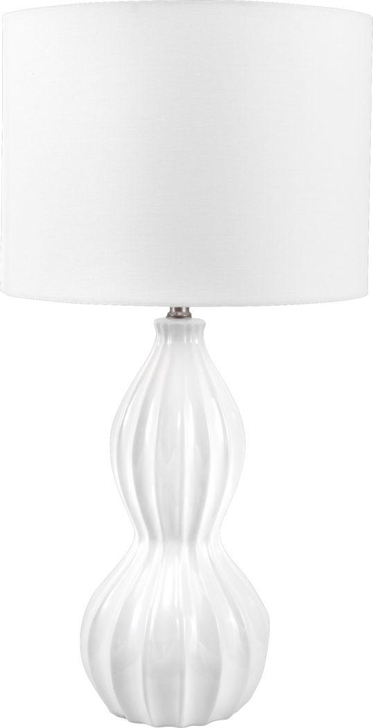 Virkler Cream Lamp