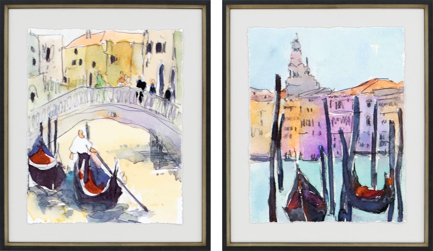 Viticole II Beige Set of 2 Artwork