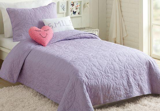 Vivi Purple Full Comforter Set