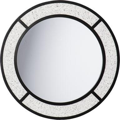 Volpaire Gray Wall Mirror