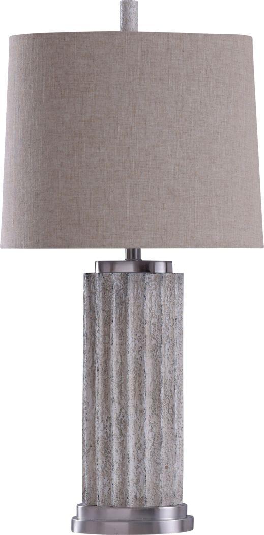 Vyse Beige Lamp