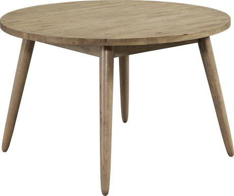 Waleswood Brown Round Dining Table