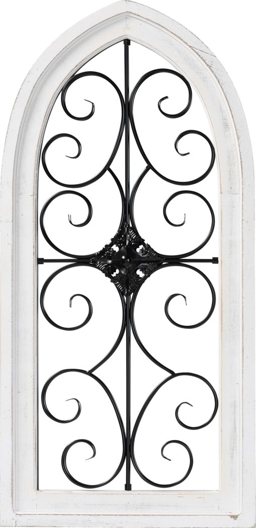 Wallabout White Wall Mirror