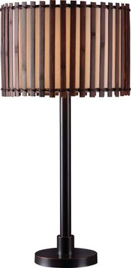Walterboro Brown Outdoor Table Lamp