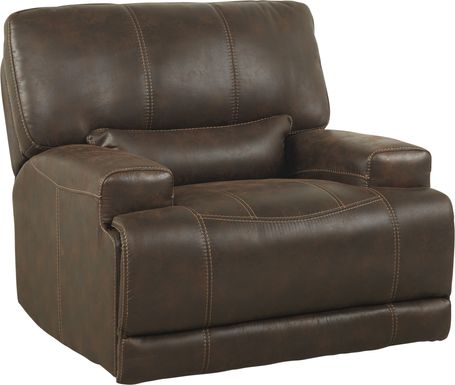 Warrendale Chocolate Power Recliner