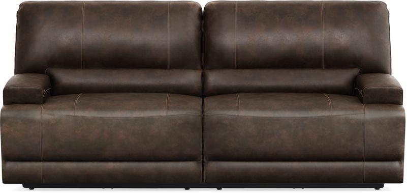 Warrendale Chocolate Power Reclining Sofa
