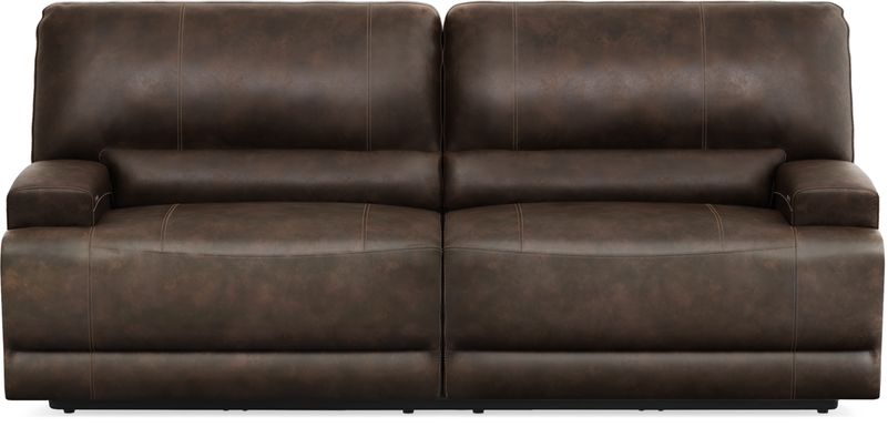 Warrendale Chocolate Power Reclining Sofa