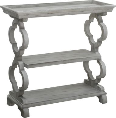 Wasatch Way Gray Console Table