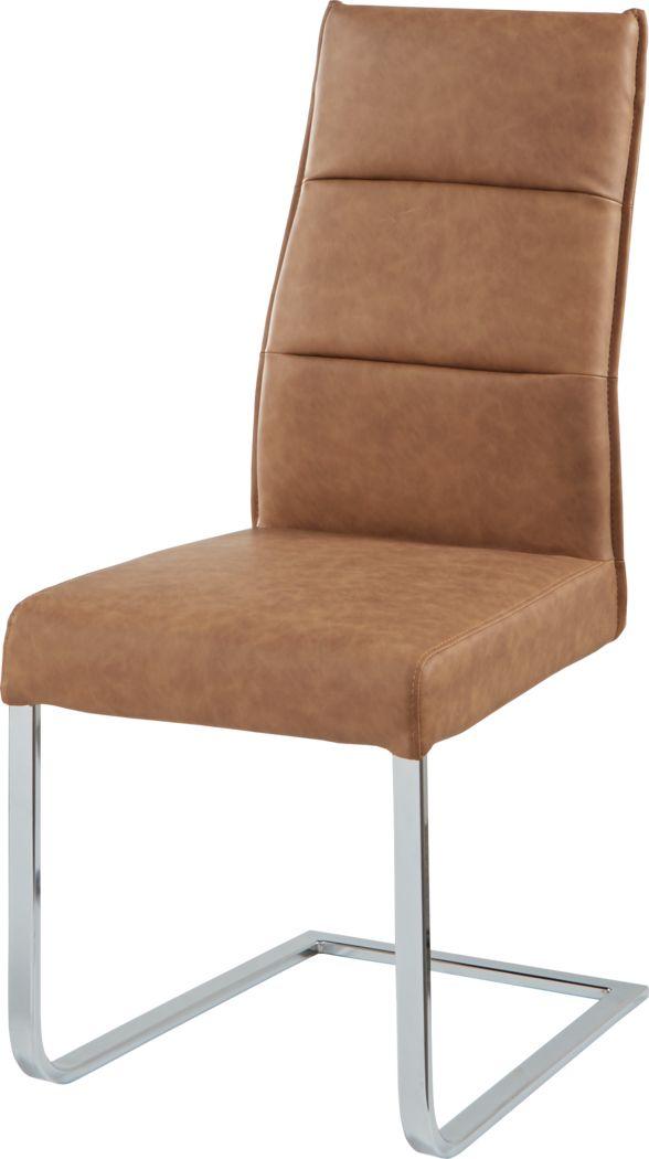Washington Square Camel Side Chair