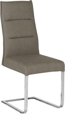 Washington Square Gray Side Chair