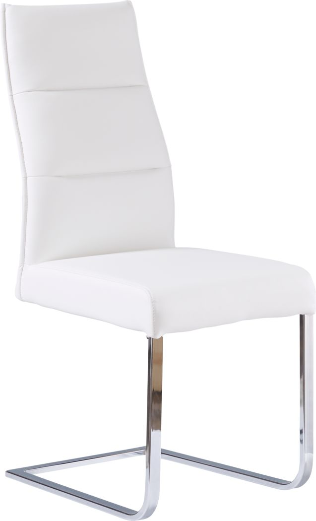 Washington Square White Side Chair