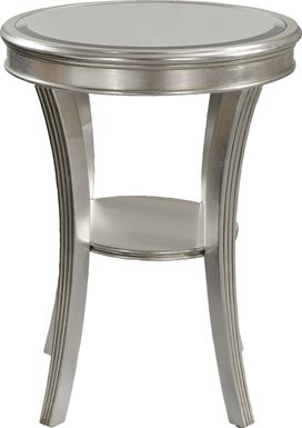 Waterbury Silver Accent Table