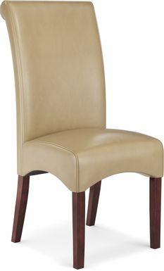 Watercolor Tan Side Chair