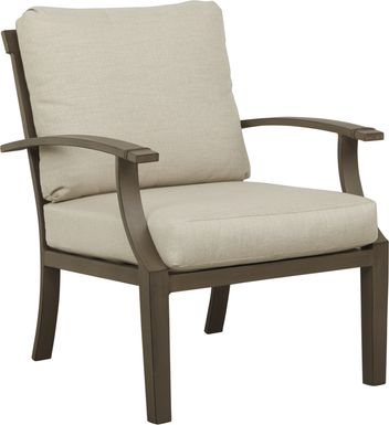 Waterfront Bronze Outdoor Chair