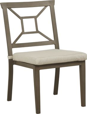 Waterfront Bronze Outdoor Side Chair