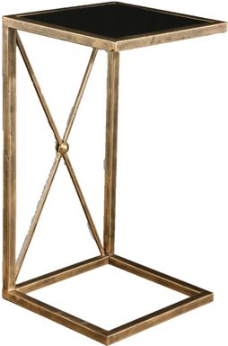 Watergrove Black End Table