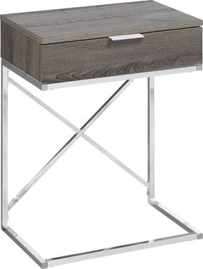 Wauford Taupe Accent Table
