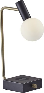 Waveney Black Table Lamp