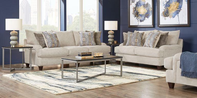 Waverly Park Beige 8 Pc Living Room