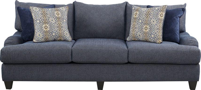 Waverly Park Blue Sofa