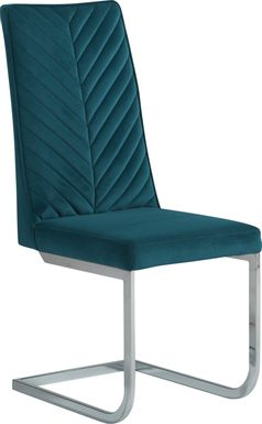 Waycroft Blue Side Chair