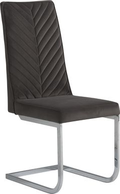 Waycroft Charcoal Side Chair