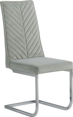 Waycroft Gray Side Chair