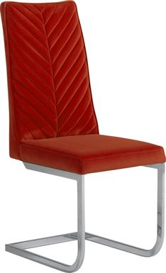 Waycroft Red Side Chair