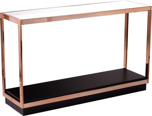 Weathervan Black Console Table