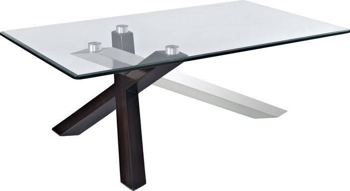 Wella Espresso Cocktail Table