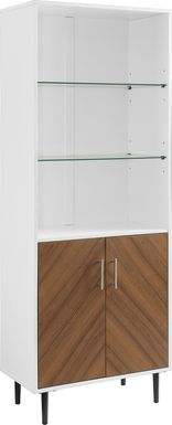 Wellcrest White Bookcase