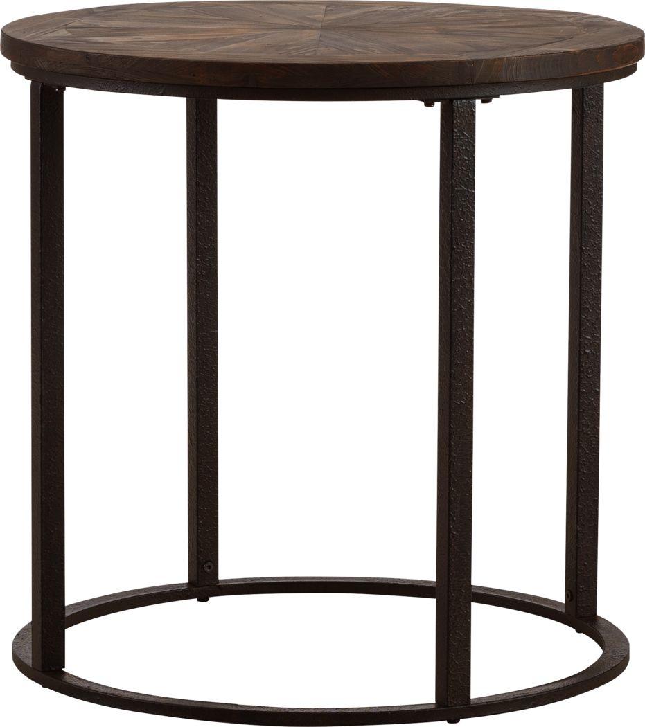 Welltown Brown End Table