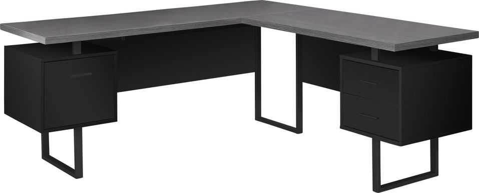 Wellyn Black Desk