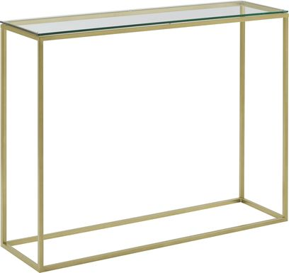 Wendeller Gold Sofa Table