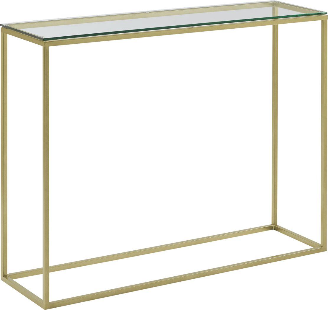 Wendeller Gold Sofa Table