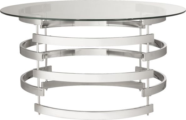 Wending Silver Cocktail Table