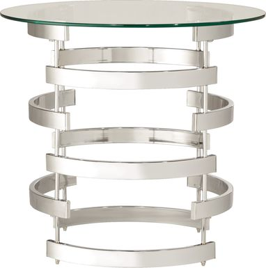 Wending Silver Side Table