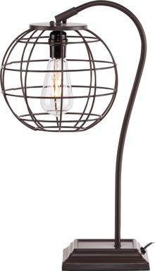 Westend Brown Table Lamp